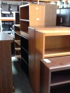 Pre Owned Office Furniture - Bookcases - Metal & Wood Styles