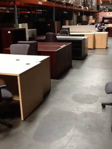 Pre Owned Office Furniture - Desks