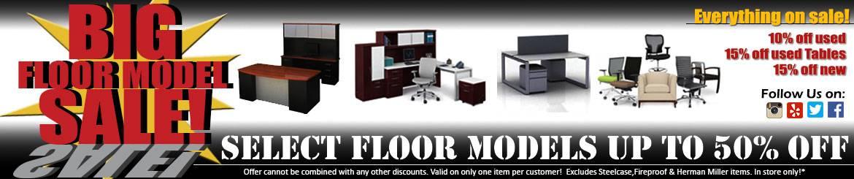 Floor Model Sale Banner