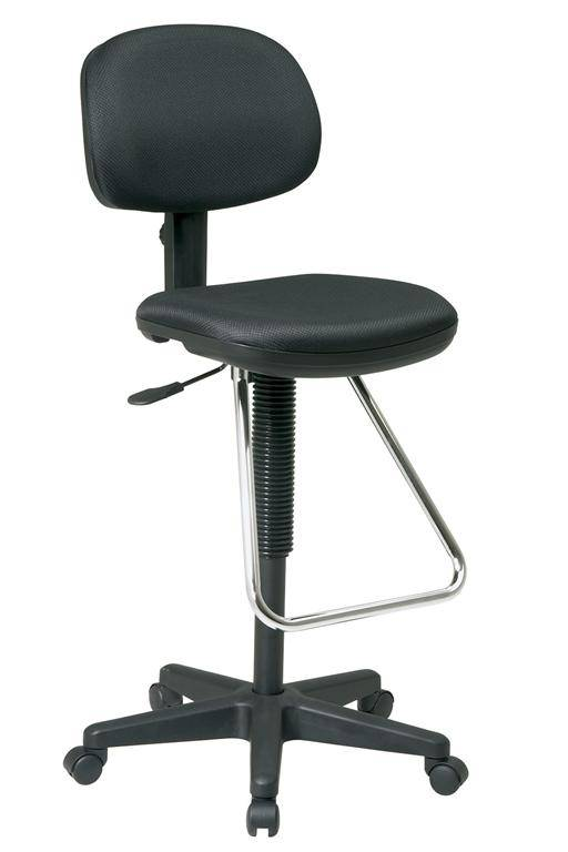 Office Star Drafting Stool With Tear Drop Foot Support