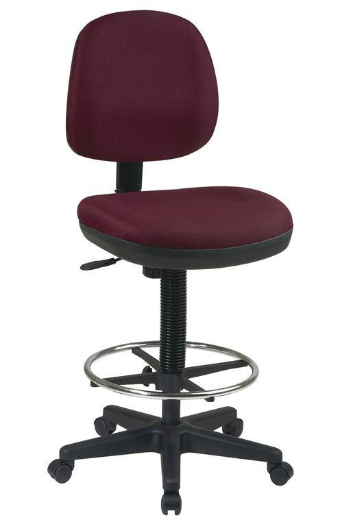 Office Star Flex Back Contemporary Drafting Chair Free
