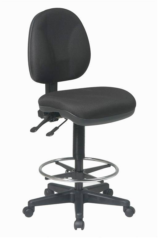 Office Star Intermediate Height Deluxe Ergonomic Drafting Chair FREE SHIPPI