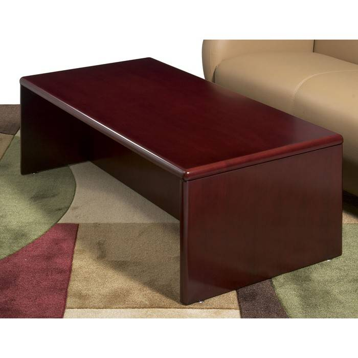 Sonoma Coffee Table 48x24x16 Dark Cherry Wood Free Shipping