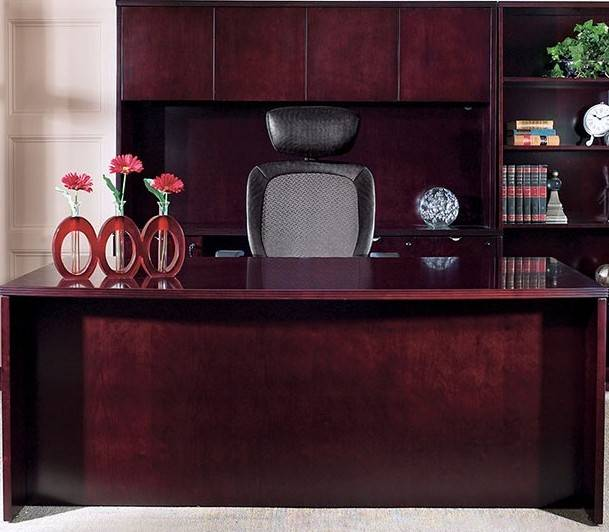 Kenwood Executive Office Suite Desk Hutch Credenza