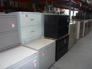 Pre Owned Office Furniture - File Cabinets