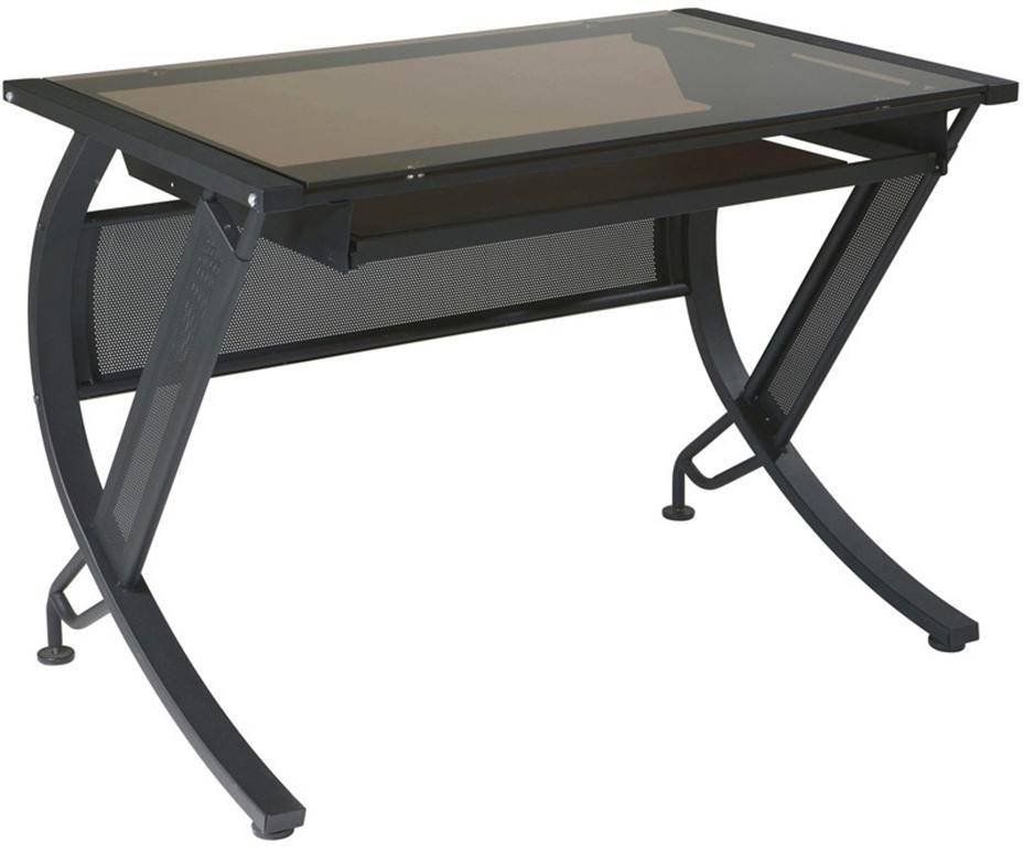 Horizon Desk Series Computer W Pull Out Keyboard Tray Free
