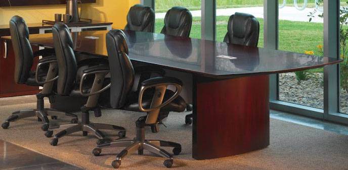 Mayline Napoli Series Conference Table FREE SHIPPING - Napoli conference table