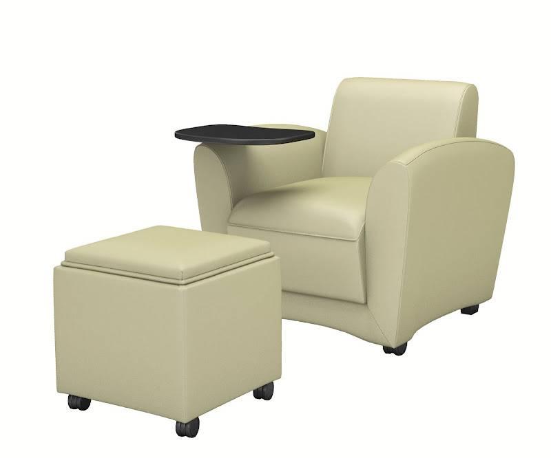 Santa Cruz Lounge Series Mobile Lounge Chair Free