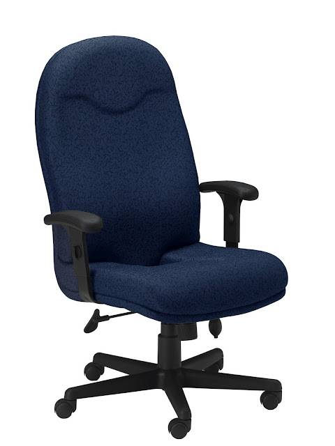 Mayline Comfort Series Executive High Back Chair Free