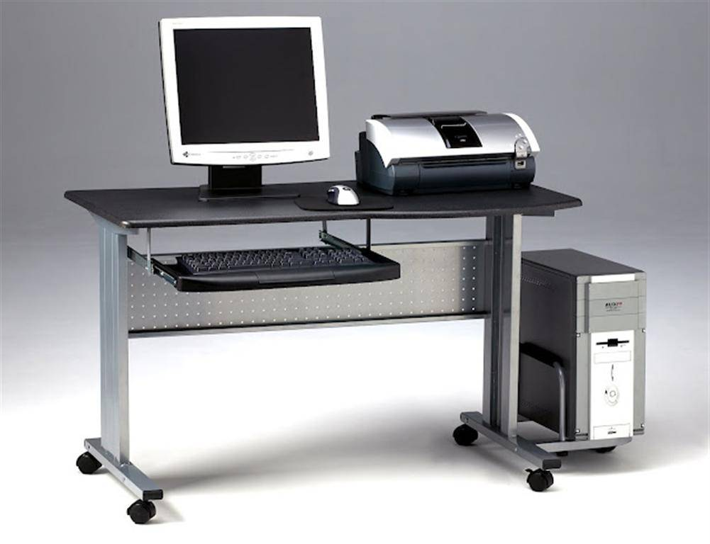 Mayline Eastwinds Mobile Computer Worktable Free Shipping