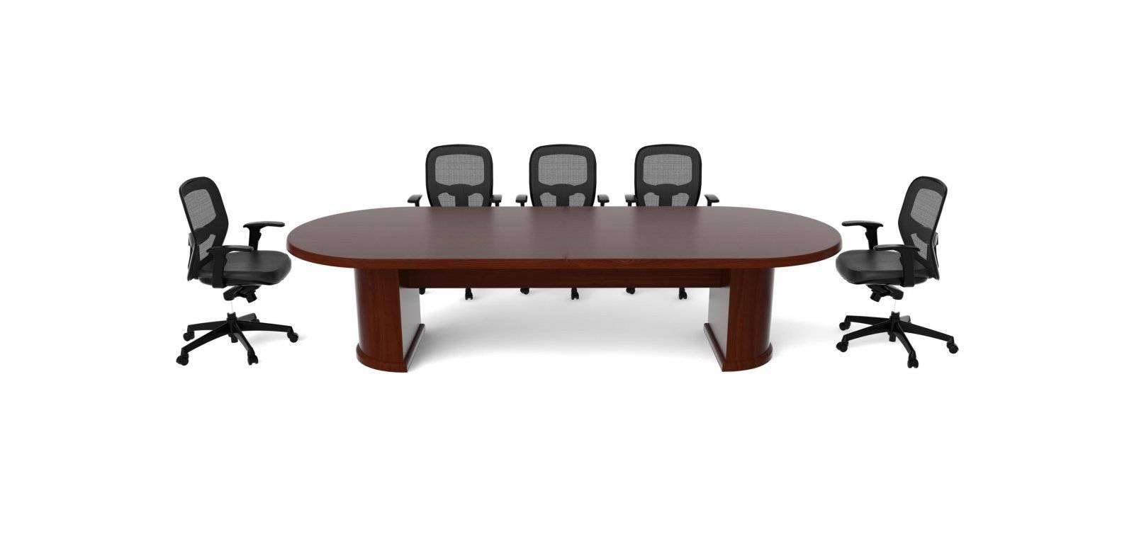 Cherryman ruby series 120 racetrack conference table for 120 conference table