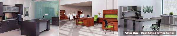 All-in-One Desk Sets & Office Suites