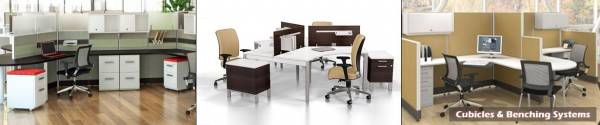 Cubicles & Benching Systems